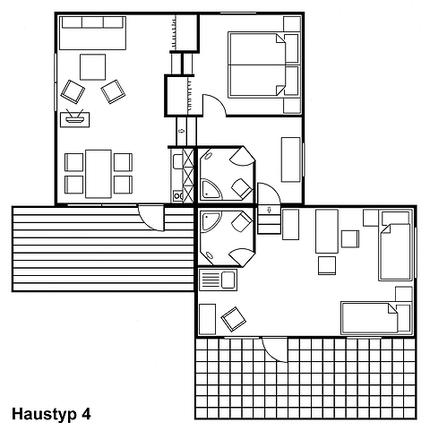 Iutspann Hiddentrup Grundriss Haustyp 4