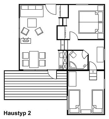 Iutspann Hiddentrup Grundriss Haustyp 2